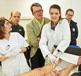 Kurs zur Behandlung von Krampfadern - Kompressionstherapie und Schaumsklerosierung in Köln