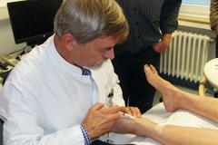 Venöse Malformationen im Weiterbildungslurs für Dermatologen